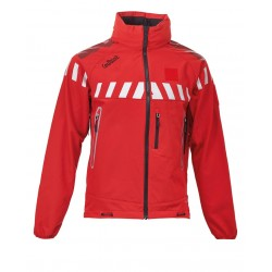 VESTE SOFTSHELL CYCLONE ROUGE